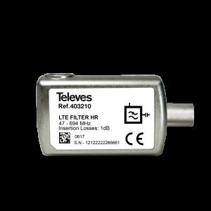 Televes filtri, atenuatori, diplekseri, prenaponska zaštita ICP Srbija