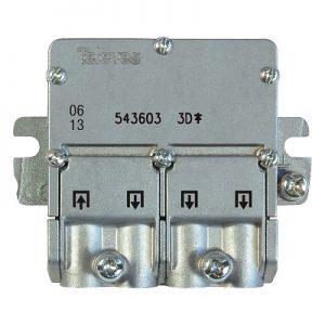 Televes razdelnik sa EasyF konektorima, ICP Srbija