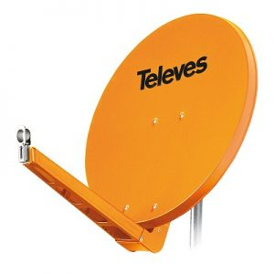 QSD satelitske antene Televes Srbija, ICP