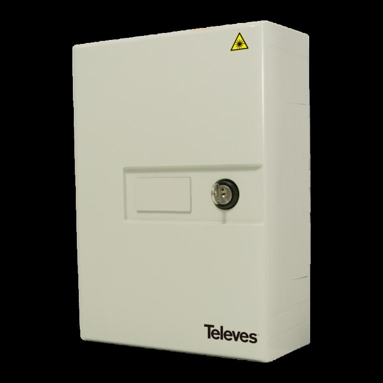 Televes ref. 231302 prolazna optička kutija za do 24 spoja