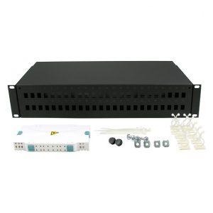Televes splice box - kutije za splajsovanje sa patch panelom za do 24 / 48 SC konektora ref. 533152 (24) i 533157 (48)