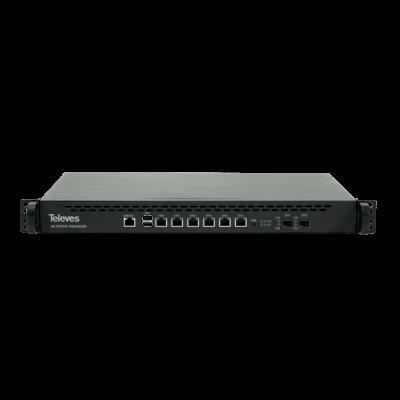 Televes ruter ref. 769111 6 x 1Gbps i 2 x SFP porta