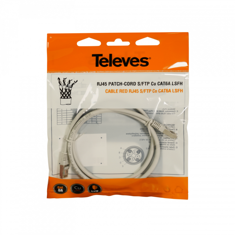 Televes patch cord kablovi, pakovanje, ICP Srbija